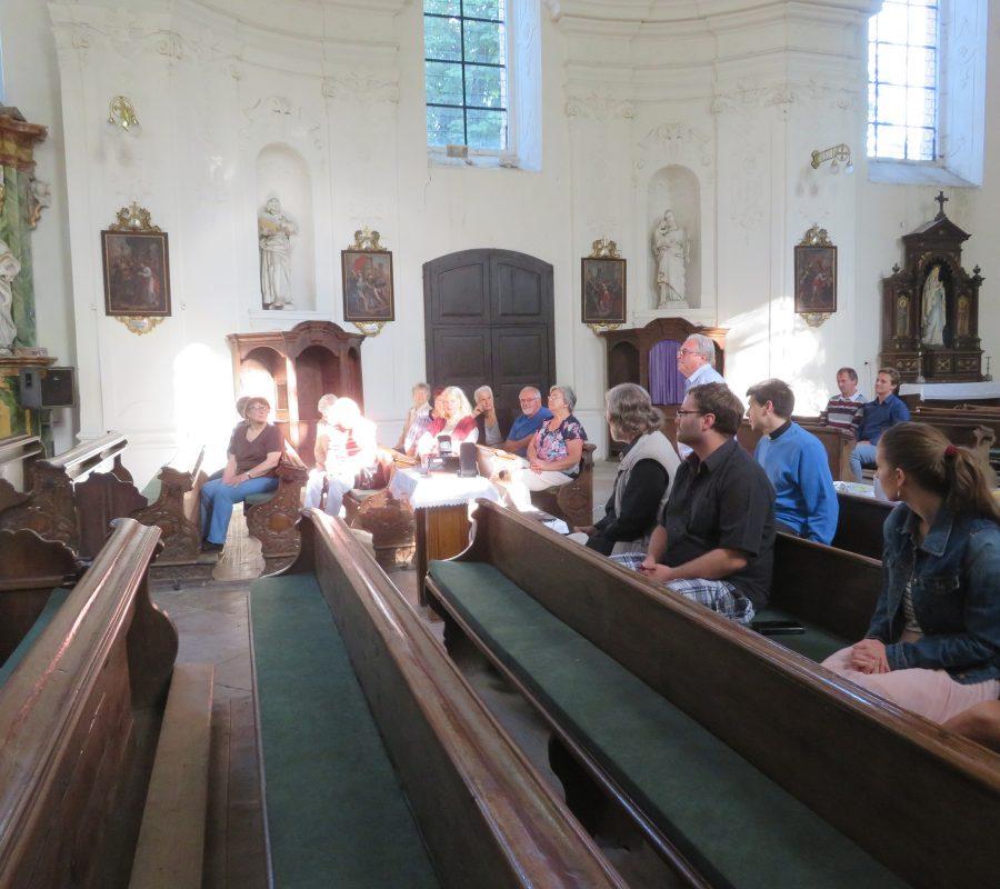 Přednáška Mgr. Radka Rejška v Rožďalovicích v kostele sv. Havla